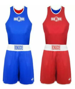 NWT RINGSIDE REVERSIBLE COMPETITION OUTFIT MEDIUM ADULT 2 PIECE COSTUME