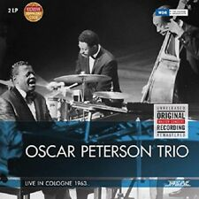 OSCAR TRIO PETERSON - LIVE IN COLOGNE 1963  VINYL LP + DOWNLOAD NEW!