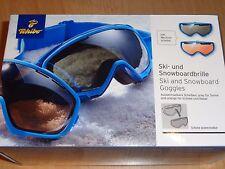 Tchibo Skibrille Snowboardbrille mit Wechselscheibe   NEU