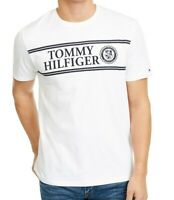 Tommy Hilfiger Mens Shirt White Size 2XL Ivy Chest Logo Graphic Tee $39- #077