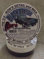 Ron's Black Beauty 100% Brazilian Carnauba Car Wax - 6 oz. Tub
