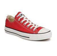 Converse Chuck Taylor All Star Low Top Red/White M9696 Mens Canvas Shoes
