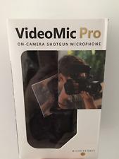 VideoMic PRO On-Camera Super Shotgun Microphone for DSLR Camera 3.5mm