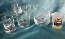 Bailey's, Whyte & MacKay, tumblers + 2 shot glasses.