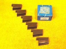 """NEW SET OF (6) GREENFIELD GEOMETRIC STYLE 3""""- 8 TPI NPT HIGH SPEED STEEL CHASERS"""