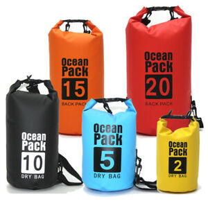 Dry Bags Waterproof Floating Backpack 10L 20L 30L for Boating Kayaking Swimming