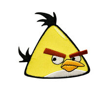 Angry BIRDS-YELLOW-ricamate aufbügler PATCH BADGE-NUOVO #9045