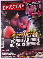 DETECTIVE du 8/9/2010; Le bébé pendu dans sa chambre/ Chirurgiens se battent