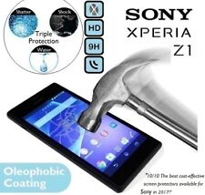 100% Genuine Tempered Glass Screen Protector 9H (L39H C6903) For Sony Xperia Z1
