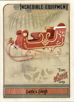 2019 Topps Allen and Ginter Incredible Equipment #IE-17 Santa's Sleigh