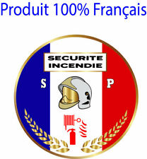 STICKER Autocollant SSIAP ., patch, écusson pare-brise voiture SECURITE INCENDIE