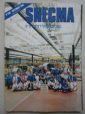 9/1984 SNECMA INFORMATIONS 290 500ème MOTEUR CFM56 ENGINE MATERIAUX LARZAC M53