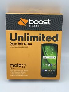 Motorola Moto G6 Play 16GB Smartphone - Black (Boost Mobile)