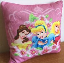 Disney Princess Pillow Belle Cinderella Sleeping Beauty Licensed Pink Soft Cute