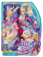Barbie Star Light Galaxy Barbie Doll & Flying Cat   New  5+   dlt22