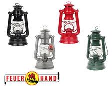 Feuerhand Storm Lantern 276 Traditional Galvanised Paraffin Hurricane Lamp