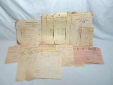 Large Lot of Ephemera 1930s Billheads Adam Scheidt-Yergey Peanut Co-Phila Dairy