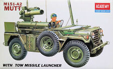 "Academy 1:35 M151-A2 ""Mutt""  with TOW Missile Launcher. Kit Nr. 1352."