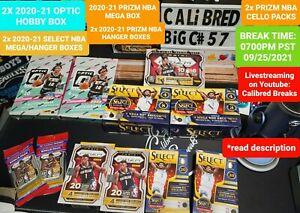 BREAK#57 MIA HEAT 2x DONRUSS OPTIC 🏀 HOBBY BOX SELECT/PRIZM MIXER