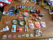 Large Vintage 80's-90's Coca-Cola collection Cars,Mirrors,Trays,Mini Bottles +