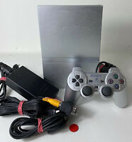 Sony PlayStation 2 Slim | Silber | Konsole | PS2 | gebraucht