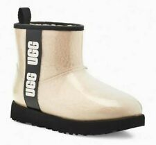 UGG Womens Classic Clear Mini Natural Size 8