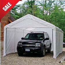 Canopy Enclosure Kit 12x20 Car Port Cover Portable Shelter Carport UV Protection