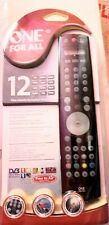 ONE FOR ALL - 12 IN ONE UNIVERSAL REMOTE CONTROL - URC 7781 - RARE NEW & SEALED
