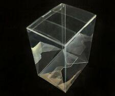 "5 x Vinyl Display Cases Box s  4"" Protectors for Funko Pop figures"