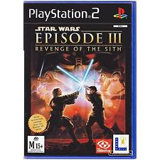 PLAYSTATION 2 STAR WARS EPISODE III REVENGE OF THE SITH PAL PS2 [UVG] YOUR GAMES
