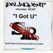 (FO500) Delinquent ft Kcat, I Got U - 2008 DJ CD