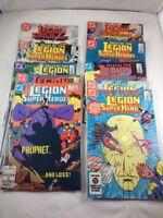 Legion of Super-Heroes DC Comics Vintage Mid-Eighties 10 Issue Lot VF