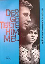 Der Geteilte Himmel Werberatschlag Renate Blume, Eberhard Esche Hardt-Hardtloff