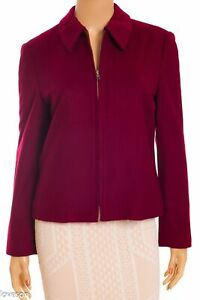 BROOKS BROTHERS Factory Store NWT Wool/Cashmere Zip Up Jacket 8P
