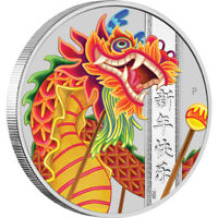 2019 Chinese New Year 1oz Silver Coin