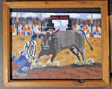 Rodeo Acrylic Painting  Guts & Glory by Louis Alberto 2003