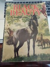 1938 Edition Black Beauty by Anna Sewell Story & Workbook