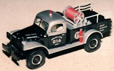 FIRST GEAR  1949 DODGE POWER WAGON - BRUSH TRUCK - 19-0021 CLUB MODEL #16