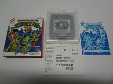 Teenage Mutant Ninja Turtles 2 Nintendo Game Boy Japan