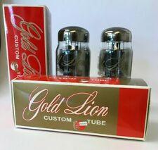 KT88 Genalex Gold Lion Russian 2 pieces NOS tube valve