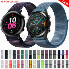 For Huawei Watch GT 2 Pro 2e 46mm 42mm Nylon Woven Sport Loop Straps Wrist Band