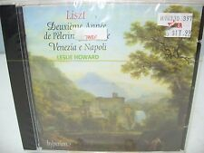 Liszt SOLO PIANO V-43 DEUXIEME ANNEE DE PELERINAGE-ITALIE, L Howard Hyperion NEW