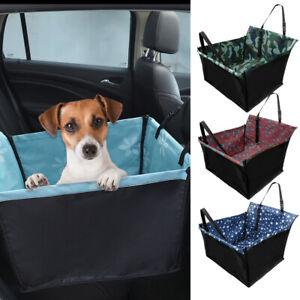 Dog Car Seat Cover Rear Back Mat Cushion Pet Carrier Basket Hammock Protector