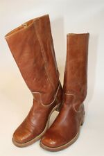 Frye Mens Size 9.5 D Vintage Campus 14L Leather Pull On USA Made Boots 2955