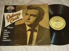 Johnny Cash Sings: The Songs That Made Him Famous Original SUN Records MONO LP