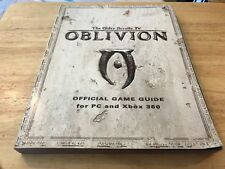 Elder Scrolls IV Oblivion Official Strategy Game Guide Covers PC Xbox 360 Game 4