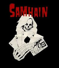 SAMHAIN - Death Cards Logo T-shirt - Size Large L - NEW - Misfits Danzig *