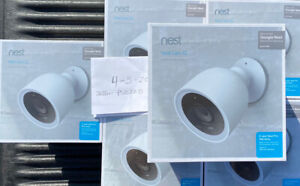 NEST Cam IQ Outdoor Pro Edition Smart Security Camera 5 year warr  - Sealed NEW