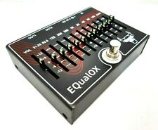 More details for metal ox oxp-104, equalox, 10 band eq and volume guitar pedal (uk).