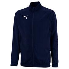 Puma fútbol liga sideline poly chaqueta Core fútbol chaqueta señores Navy
